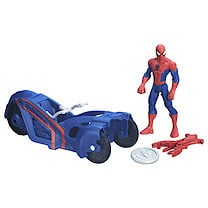 Marvel Ultimate Spider-Man Sinister 6 Web City Cycle Vehicle - Agent Venom with Symbiote Cycle