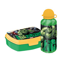Avengers Sandwich Box and 400ml Canteen