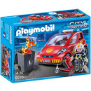 Playmobil 9235 City Action Firefighter with Car