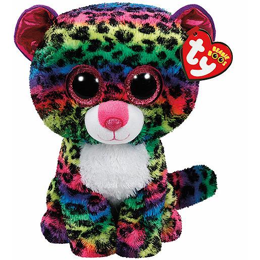 Ty Beanie Boo Buddy - Dotty the Leopard Soft Toy ed5ffedc8c2b