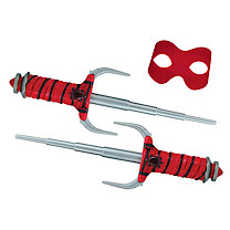 Teenage Mutant Ninja Turtles Movie 2 Role Play Weapon Set - Raphael's Sais