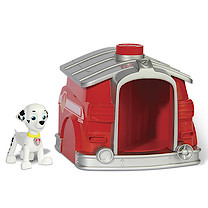 Paw Patrol Pup to Hero Figure Playset - Marshall