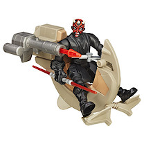 Star Wars Hero Mashers Sith Speeder & Darth Maul Figure