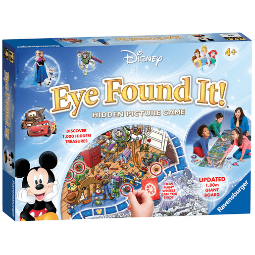 Ravensburger Disney Eye Found It - Hidden Picture Game from TheToyShop