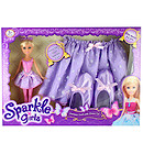 Sparkle Girlz Fantasy Doll with Dress Up Costume - Ballerina