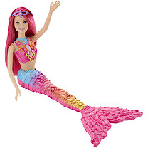 Barbie Fairytale Mermaid Doll - Rainbow Fashion