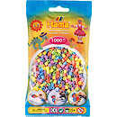 Hama Pastel Beads Pack - 1000 Pieces