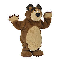 Masha and The Bear Dancing Bear Soft Toy