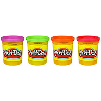Play-Doh 4 Pack (Colours Vary)