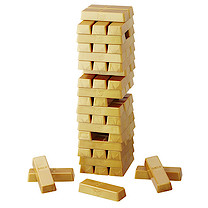 Jenga Gold Game
