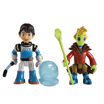 Disney Miles From Tomorrow Two Figure Pack - Miles and Prince Rygan