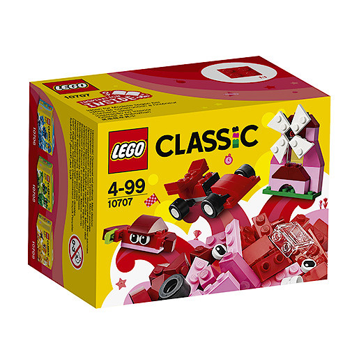 LEGO Classic Red Creativity Box - 10707