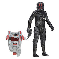 Star Wars The Force Awakens Armour Up 9cm TIE Fighter Pilot Elite Figure