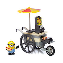 Mega Bloks Minions Small Playset - Flying Hot Dog Cart