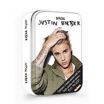 Justin Bieber Tin of Books