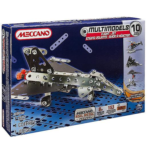 Meccano Flight Jet 10-in-1 Model Maker Set