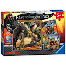 Ravensburger How to Train your Dragon 3 x 49 Piece Puzzles