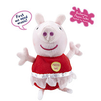 Peppa Pig Talking Soft Toy - Ballerina Peppa