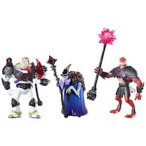 Disney Toy Story That Time Forgot Battleopolis 3-Pack