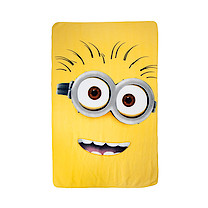 Despicable Me Fleece Blanket - Yellow