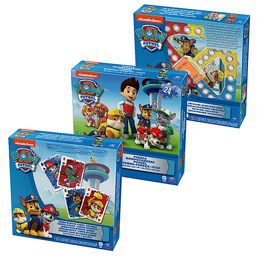 Paw Patrol Games 3 Pack