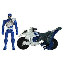 Power Rangers Dino Charge Cycle With Blue Ranger Figure