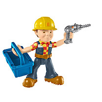 Bob the Builder Fuel Up Friends Figure with Accessory - Repair and Build Bob