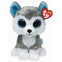 Ty Beanie Boo Buddy - Slush the Husky Dog