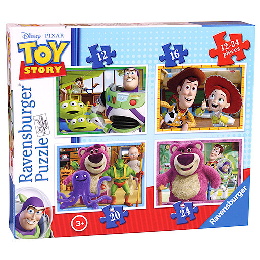 Ravensburger 4 in a Box Puzzles  Toy Story