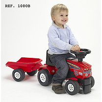 Baby Farm Tractor Mustang 350S with Trailer