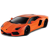 48cm Remote Control Orange Lamborghini with Black Windscreen