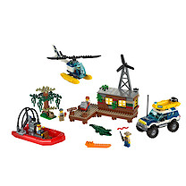 Lego City Swamp Police Crook's Hideout - 60068