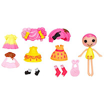 Lalaloopsy Minis Style 'n' Swap Doll - Crumbs Sugar Cookie