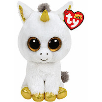 Ty Beanie Boo Buddy - Pegasus the Unicorn Soft Toy