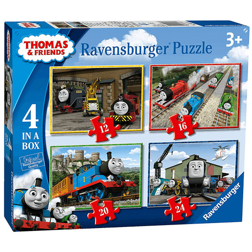 Ravensburger 4 in a Box Puzzles - Thomas & Friends