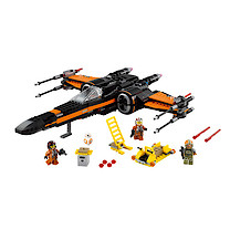 Lego Star Wars The Force Awakens Poe's X-Wing Fighter -75102