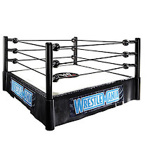 WWE Wrestlemania Superstar Ring Playset with The Rock & John Cena Figures