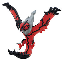 Pokemon XY Articulated Vinyl Yveltal Figure