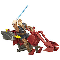 Star Wars Hero Mashers Jedi Speeder & Anakin Skywalker Figure