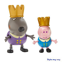 Peppa Pig Once Upon a Time Twin Figure Pack - Prince George & Prince Danny