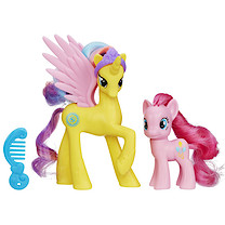 My Little Pony Cutie Mark Magic Two Pack - Princess Gold Lily and Pinkie Pie