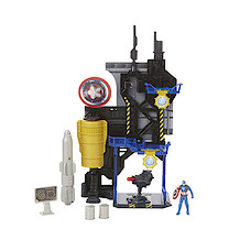 Marvel Captain America: Civil War Miniverse Playset - Captain America Bunker