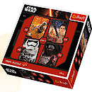 Star Wars The Force Awakens 4-in-1 Puzzles (35, 54, 48, 70 Pieces)