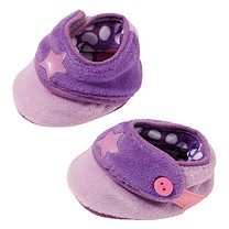 Baby Born Snuggle Shoes - Purple