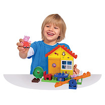 Peppa Pig PlayBig Blox Garden House Construction Set