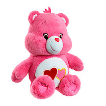 Care Bears Large Soft Toy - Love-a-Lot Bear