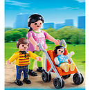 Playmobil - Mother with Children Figures