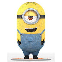 Ravensburger Shaped Minion 3D Puzzle, 54 Pieces