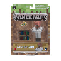 Minecraft Villager Librarian Figure