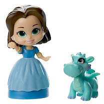 Disney Sofia the First Figure with Friend - Jade & Crackle